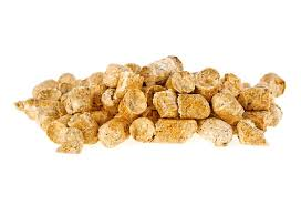 Pelleted compound feed Isolated on ... | Stock image | Colourbox