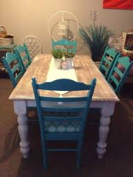 interesting to paint the chairs a diffe color more