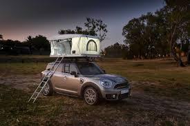 The Mini Aim High The Autohome Roof Tent For The Mini Countryman Makes A