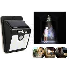 Everbrite Solar Light Not Working Shop Ever Brite Solar Powered Motion Activated Led Solar