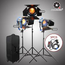 650 Light Us 493 5 30 Off Alumotech As Arri 300 650 1000w Fresnel Tungsten Light Dimmerx3 Air Cushion Stands Case Light Kit Fo Studio Video Photography In