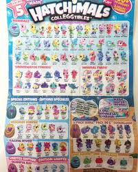 Hatchimals Twins Color Chart Heres A Few Snaps Of The New Season 5 Mermals Checklist