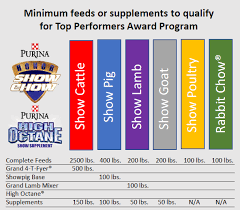 Steer Feeding Chart Show Top Performers Detail