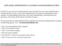real estate administrative assistant resume sample resume samples free word