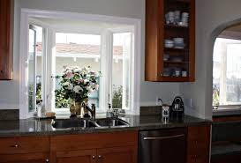 kitchen garden windows | The kitchen has a garden window
