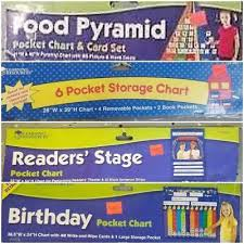 Learning Resources Pocket Charts Ebay