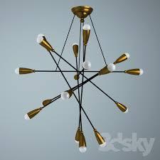 arteluce chandelier attribution gino sarfatti