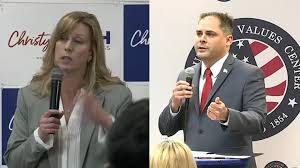 District 25 Race: Democrat Christy Smith concedes to Republican Mike Garcia  - ABC7 Los Angeles