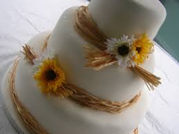 Decorating With Raffia Raffia Ribbon Cake Cakecentralcom