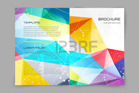 paper flyer abstract brochure or flyer design template book cover design