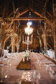 rustic wedding lighting ideas. interesting lighting 10 gorgeous barn wedding receptions to rustic lighting ideas n