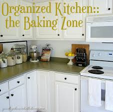 For Organizing Kitchen Organized Space Of The Week Kitchen The Baking Zone A Bowl