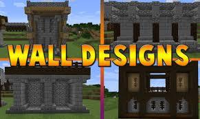 minecraft wall designs. Minecraft : 6 Wall Designs \u0026 Ideas O