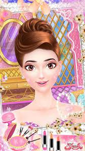makeup salon barbi princess wedding makeover screenshot 1
