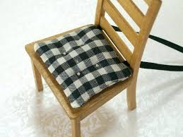 black chair cushions pottery barn chair pads the simple and traditional black white colors kitchen chair