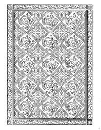 Dover Decorative Tile Coloring Book