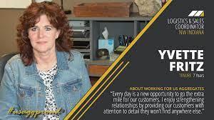US Aggregates - Meet Yvette Fritz, Logistics & Sales... | Facebook