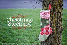 Make a Gorgeous Quilted Christmas Stocking (Holiday Tutorial ... & Make a Gorgeous Quilted Christmas Stocking (Holiday Tutorial)! Adamdwight.com