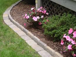 Decorative Stones For Flower Beds 78 Images About Garden On Pinterest Paver Edging Layering And