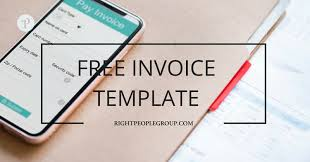 Free Electronic Invoice Free Invoice Template In Excel Download It Now And Create