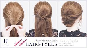 ストレート直毛のヘアアレンジ10選超簡単くるりんぱやハーフアップも