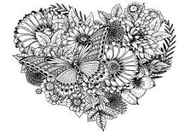 Coloring pages for bouquet of flowers (nature) ➜ tons of free drawings to color. Flowers Vegetation Coloring Pages For Adults