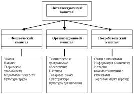 Интеллектуальный капитал Контрольные работы Банк рефератов  Структура интеллектуального капитала