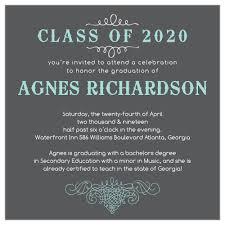 Elegant Graduation Announcements 2019 Graduation Announcements Invitations For High School