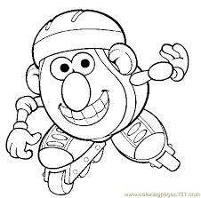 Small Picture Mr Potato Head 015 Coloring Page Free Mister Potato Coloring
