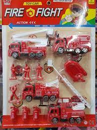 Ví đồ chơi xe cứu hỏa cho bé trai