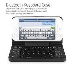 Graffiti iPhone 5 Keyboard Case