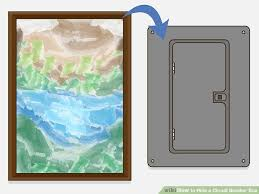 3 ways to hide a circuit breaker box wikihow circuit breaker box image image titled hide a circuit breaker box step 2