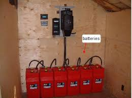 off grid solar power systems battery bank surrette rolls batteries in an off grid system
