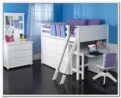 childrens beds with storage and desk