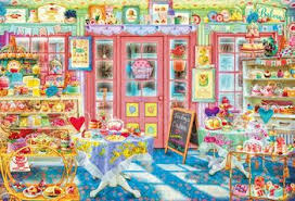 Join the puzzle club and receive a new jigsaw puzzle every month as long as your membership is active. Jigsaw Puzzle Aimee Stewart Cake Shop 1000pcs Plazajapan