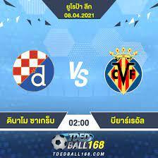 วิเคราะห์บอล [ ยูโรป้า ลีก ] ดินาโม ซาเกร็บ VS บียาร์เรอัล - tdedball168