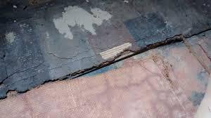 any flooring experts around old lino asbestos content singletrack forum