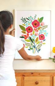 diy beautiful large wall art 5 1