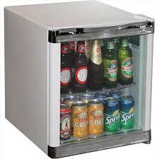Glass Door Home Refrigerator Furniture Mini Fridge With Glass Door Diamond Style Small
