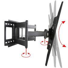 articulating tv wall mount tilt for sharp aquos 40 42 50 55 60 65 70 80