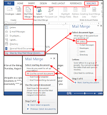 Word Mail Merge Mail Merge Master Class How To Merge Your Excel Contact