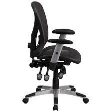 triple seated home office area. Ergonomic Home Mid-Back Gray Mesh Executive Swivel Office Chair With Seat And Back Triple Paddle Multi-Function Control EH-GO-WY-136-3-GG 50% Off Seated Area N