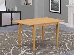 Amazon.com - East West Furniture NFT-OAK-T <b>Butterfly</b> Leaf Norfolk ...