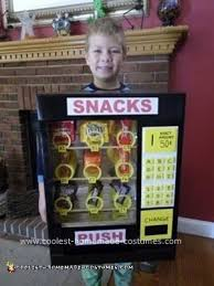 Vending Machine Costume Inspiration Cool Homemade Vending Machine Costume