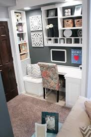 tiny office ideas. Remodelaholic | 10 Closet Office Ideas: How To Create An Space You\u0027ll Tiny Ideas