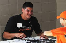 hopes and dreams mason rudolph is 20 years old but the weight of a community rests on his right arm