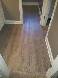 this waterproof flooring is a great choice for wet areas such as bathrooms mudrooms and laundry rooms it s even durable enough to stand up to summer fun