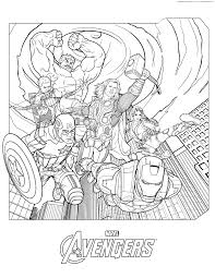 Avengers Coloring Pages Free Avengers Coloring Pages Free