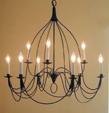 studio steel lighting. studio steel 122 bell 9 candle 2 tier chandelier lighting