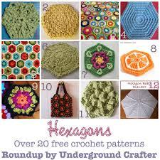 Hexagon Crochet Pattern Unique 48 Free Crochet Patterns For Hexagon Motifs Underground Crafter